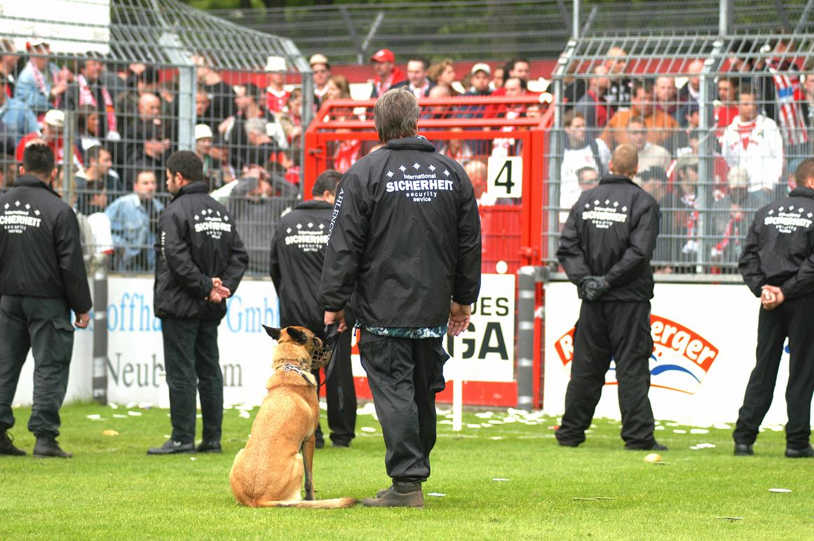 Sicherheitsdienste für Ihre Veranstaltungen wie Fußballspiele, Hochzeitsfeiern und andere Großevents